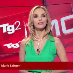 Maria Leitner del TG2 Motori