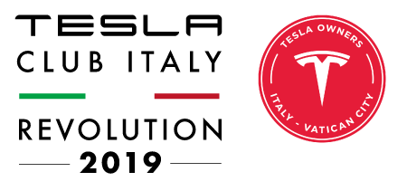 Tesla Club Italy Revolution 2019