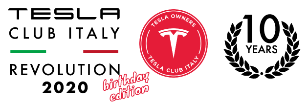 Tesla Club Italy Revolution 2020
